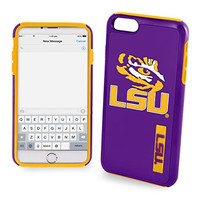 NCAA LSU IPhone 6 Plus Dual Hybrid Case (2 Piece), Yellow