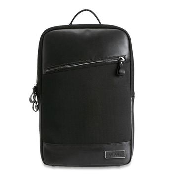 Genuine Leather Backpack Fashion Design Computer Bag for MacBook Pro Air Large Inner Space
