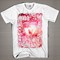You'll Never Walk Alone - Liverpool City Galaxy  Mens and Women T-Shirt Available Color Black And White