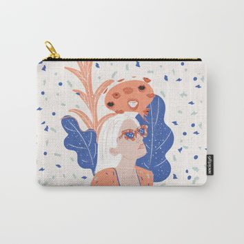 Thinkin About Kissin You Carry-All Pouch by chotnelle