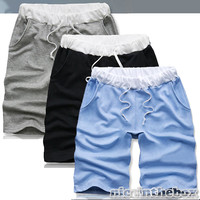 3Colors New Top Fashion Slim Sexy Baggy Casual Men Short Pants Walk Sand N98B