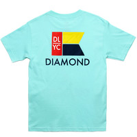 Diamond Supply Co. - Yacht Flag T-Shirt (Diamond Blue)