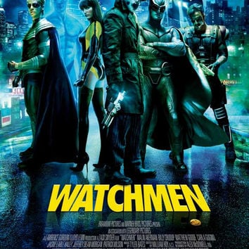 Watchmen (Norwegian) 11x17 Movie Poster (2009)