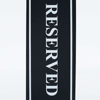 Reserved Black and White Yoga Mat - Urban Outfitters