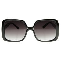 Chic Model Oversize Square Designer Sunglasses 8390