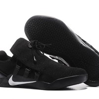 NIKE  KOBE 12 A.D.   NXT (Black/Silver) MEN'S  BASKETBALL SHOES