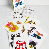 Nifty Nerd The Redstone Inkblot Test by Chronicle Books from ModCloth