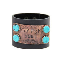 """Gypsy Soul"" Snap Fashion Bracelet"