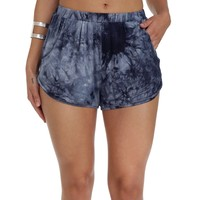 Navy Run Me Down Shorts