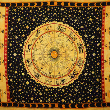 Best Tapestry, Curtain, Wall Hanging, Astro look, Hippie Tapestries, Handmade Gift