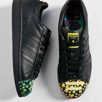 adidas Orginals X Pharrell Superstar Supershell Floral Sneaker