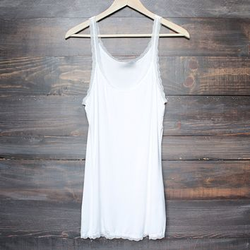 soft mineral wash vintage tank top (more colors)