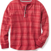 Old Navy Long Sleeve Henley Shirt