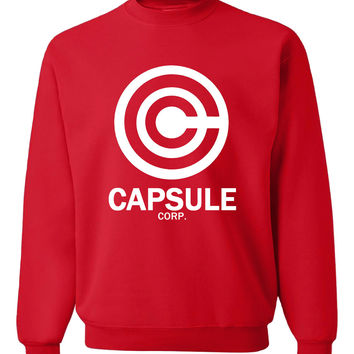 Capsule Corp Crew Neck Sweater