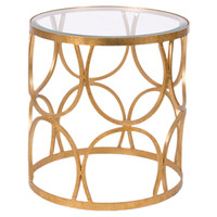 Grace Table, Gold