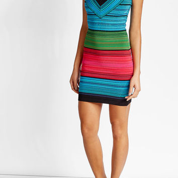 Halterneck Mini Dress - Balmain | WOMEN | US STYLEBOP.COM