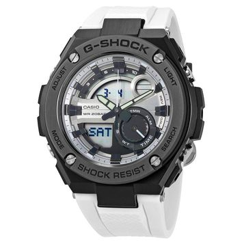 Casio G-Shock G-Steel White Resin Mens Watch GST210B-7ACR