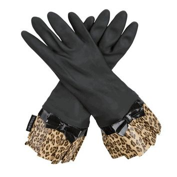 Gloveables Latex Gloves | Black Fashion Gloves from Organize.com