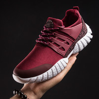 New 2016 design Men Shoes Autumn lightweight breathable air mesh casual shoes men flat shoes zapatillas runs zapatillas hombre