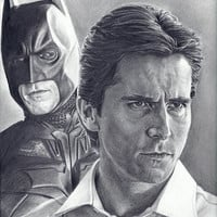 Christian Bale as Batman / Bruce Wayne