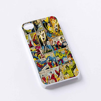 marvel comic iPhone 4/4S, 5/5S, 5C,6,6plus,and Samsung s3,s4,s5,s6