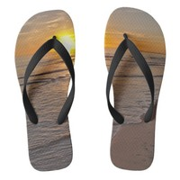 FlipFlops: Sunset by the Beach Flip Flops