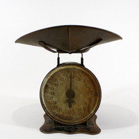 Vintage Scale / Vintage Scale With Pan / Industrial
