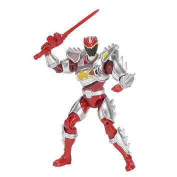 Power Rangers Dino Super Charge Powered Up Action Figure Mighty Hero Set