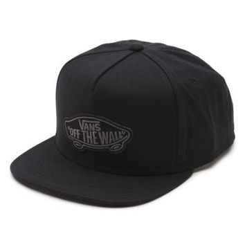 Vans Classic Patch Snapback Hat (Black)