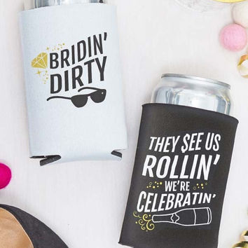 Bridin' Dirty Koozies