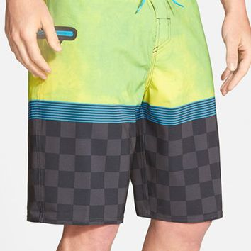 Men's Quiksilver 'AG47 Check Trip' Board Shorts