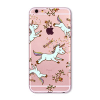 Flowers & Unicorns Case for iPhone