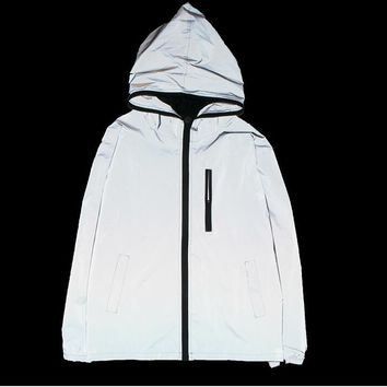 Sad Boys Pearl White Windbreaker