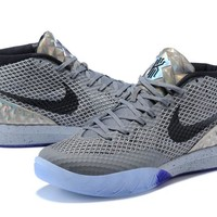 Best Deal Online Nike Kyrie 1 Irving Black Gray White Blue Men Sneakers