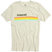 Polaroid Striped Graphic Tee