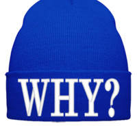 WHY Beanie - Beanie Cuffed Knit Cap