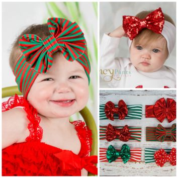 Pick your Color! Christmas Themed Headwrap