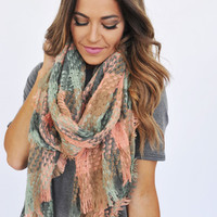 Pastel Woven Scarf