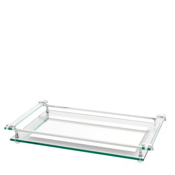 Glass Tray | Eichholtz Clemente