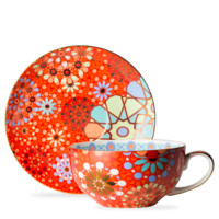 Dazed and Dazzled Lime Cup and Saucer - T2 EU | T2 Tea GB