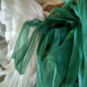 cylinder mesh nets folding nets Household receive network Gardening a ne   kitchen food receive mesh bag  40 cm in diameter