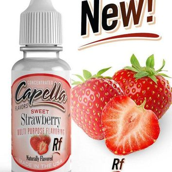 LMFXT3 Capella Flavor Drops Sweet Strawberry Concentrate 13ml
