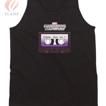 Marvel Guardians Of The Galaxy Cosmic Mix Cassette Tank Top