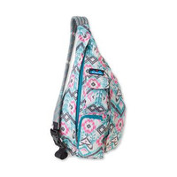 Monogrammed Kavu Rope Bags - island ikat - Great gift for College, Teens, Women, Outdoors Satchel Crossbody Tote
