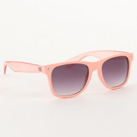 With Love From CA Solid Lucite Sunglasses at PacSun.com