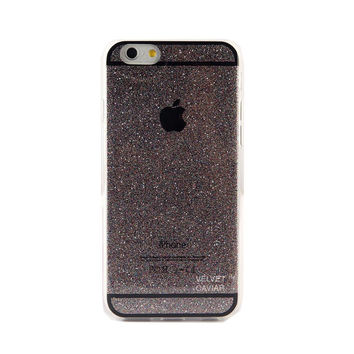 GRAY GLITTER IPHONE CASE