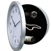 WALL CLOCK with HIDDEN COMPARTMENT Secret Stash for: Amazon.co.uk: Electronics