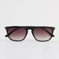 Black Rubber Sunglasses - Sunglasses & Cases - Shoes and Accessories