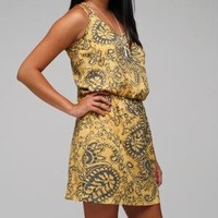 Ornate Paisley Dress / Sale / Womens