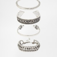 New Look Moroccan Cuff Bracelet Multipack